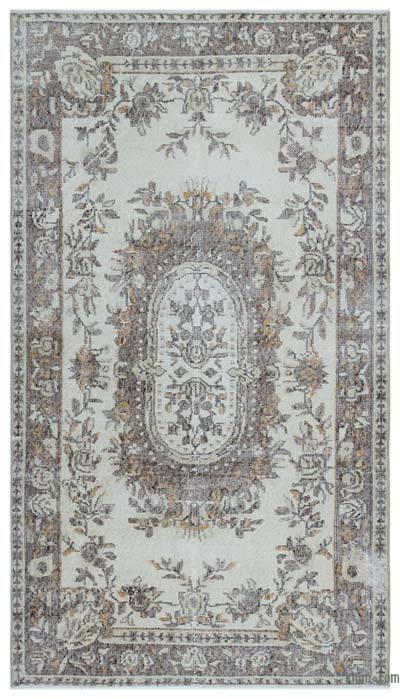 "Turkish Vintage Area Rug - 3'8"" x 6'7"" (44 in. x 79 in.)"