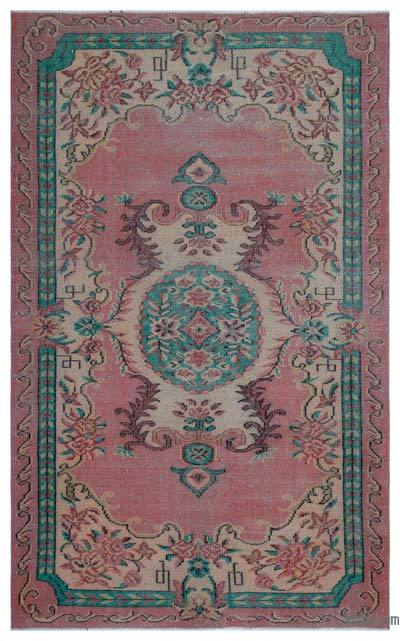 "Turkish Vintage Area Rug - 5'6"" x 8'8"" (66 in. x 104 in.)"