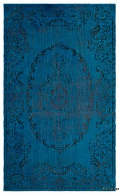 "Over-dyed Turkish Vintage Rug - 5' x 8'2"" (60 in. x 98 in.)"