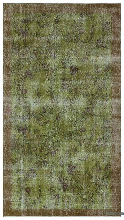 "Over-dyed Turkish Vintage Rug - 3'8"" x 6'6"" (44 in. x 78 in.)"