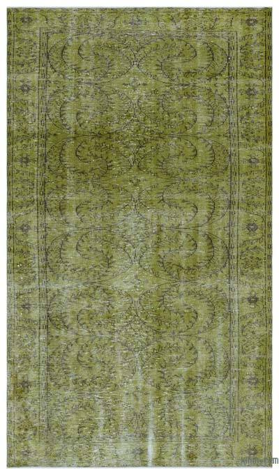 "Over-dyed Turkish Vintage Rug - 5'3"" x 9' (63 in. x 108 in.)"