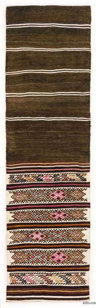 Vintage Turkish Kilim Runner - 2'1'' x 7'5'' (25 in. x 89 in.)