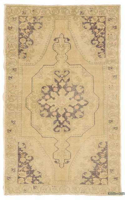 "Turkish Vintage Area Rug - 4'8"" x 7'8"" (56 in. x 92 in.)"