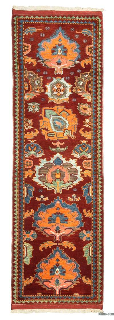 "New Turkish Pile Runner Rug - 2'9"" x 8'8"" (33 in. x 104 in.)"