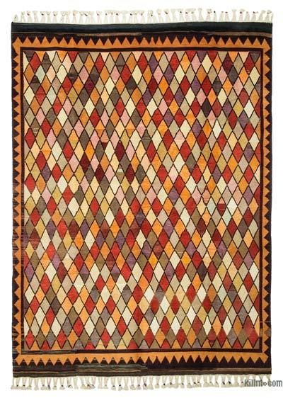 New Turkish Pile Rug - 7'8'' x 10'1'' (92 in. x 121 in.)