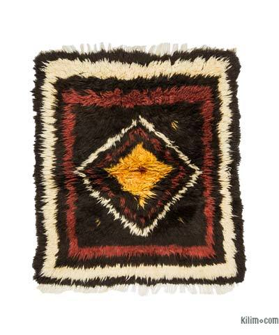 "New Turkish Tulu Rug - 3'6"" x 3'10"" (42 in. x 46 in.)"