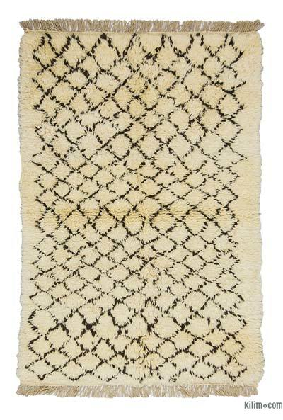 "New Turkish Tulu Rug - 3'8"" x 5'5"" (44 in. x 65 in.)"