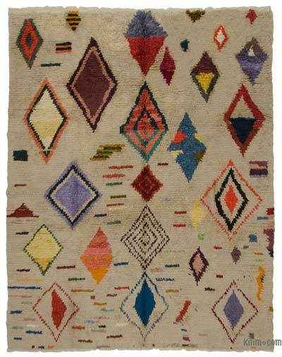 "New Turkish Tulu Rug - 8'11"" x 11'3"" (107 in. x 135 in.)"