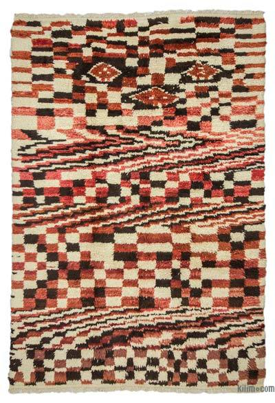 New Turkish Tulu Rug - 6'5'' x 9'4'' (77 in. x 112 in.)