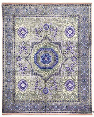 New Turkish Rug - 5'7'' x 6'11'' (67 in. x 83 in.)