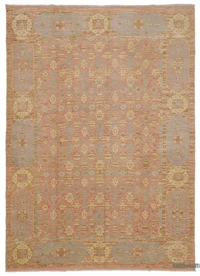 Red New Turkish Rug - 7'5'' x 10'2'' (89 in. x 122 in.)