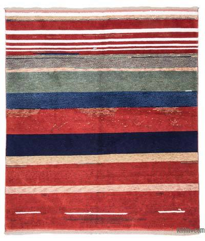 New Turkish Rug - 5'7'' x 6'5'' (67 in. x 77 in.)