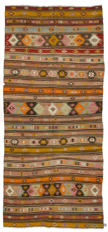 2aa52b52b K0033330 Multicolor Vintage Sivas Kilim Rug   Kilim.com: The Source for  Authentic Vintage Rugs, Kilims, Overdyed Oriental Rugs, Hand-woven Turkish  Rugs, ...