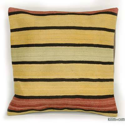 Kilim Pillow Cover - 1'8'' x 1'8'' (20 in. x 20 in.)