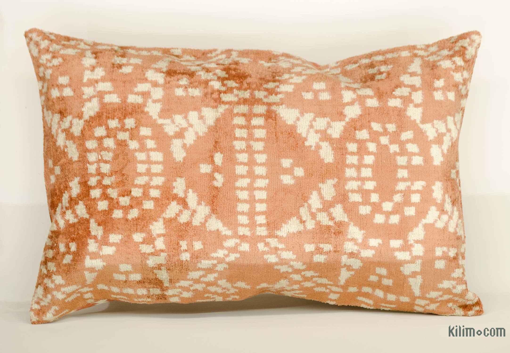 Velvet Ikat Pillow Cover 2 X 1 4 24 In 16