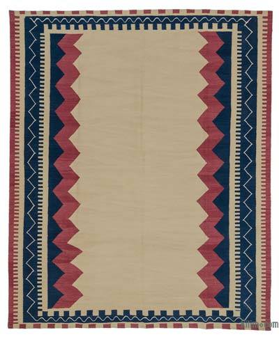 "New Turkish Kilim Rug - 7'9"" x 9'5"" (93 in. x 113 in.)"