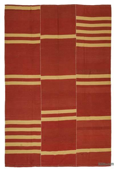 "New Handwoven Turkish Kilim Rug - 8'3"" x 12'8"" (99 in. x 152 in.)"