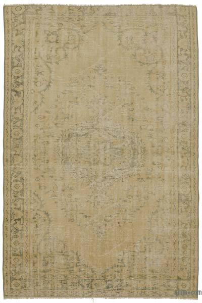 "Turkish Vintage Area Rug - 5'1"" x 7'9"" (61 in. x 93 in.)"
