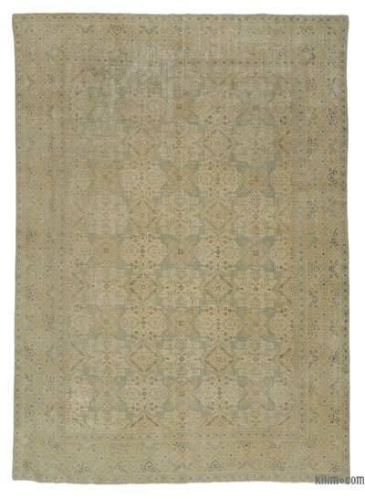 "Vintage Hand-knotted Oriental Rug - 8'11"" x 12'6"" (107 in. x 150 in.)"