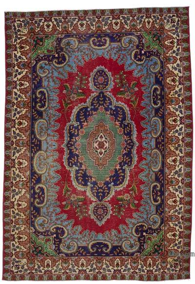 "Vintage Hand-knotted Oriental Rug - 6'7"" x 9'7"" (79 in. x 115 in.)"