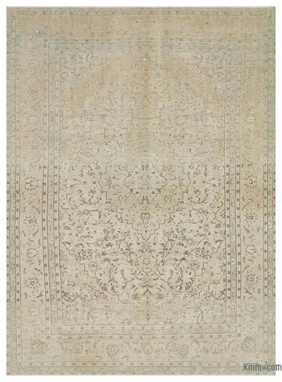 "Overdyed Vintage Hand-knotted Oriental Rug - 8' x 11'1"" (96 in. x 133 in.)"