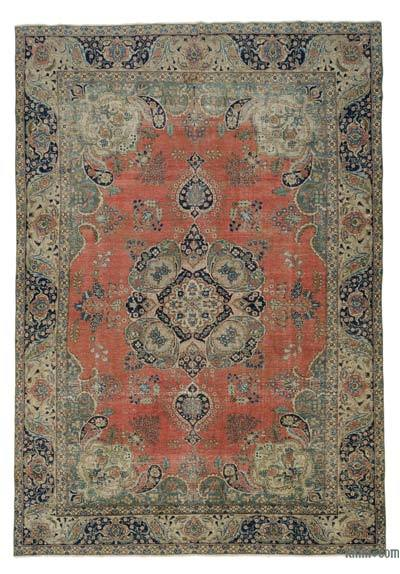 "Vintage Hand-knotted Oriental Rug - 9'3"" x 12'10"" (111 in. x 154 in.)"