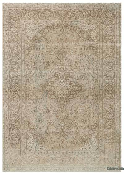 "Vintage Hand-knotted Oriental Rug - 9'5"" x 13'5"" (113 in. x 161 in.)"