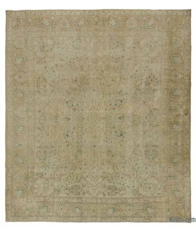 "Vintage Hand-knotted Oriental Rug - 9'7"" x 11'3"" (115 in. x 135 in.)"