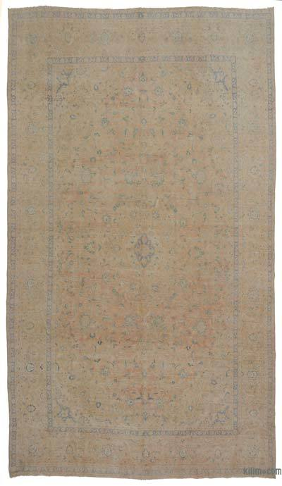 "Vintage Hand-knotted Oriental Rug - 9'5"" x 16'4"" (113 in. x 196 in.)"