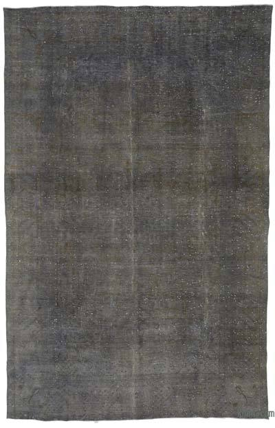 Grey Over-dyed Vintage Rug - 9'5'' x 14'8'' (113 in. x 176 in.)