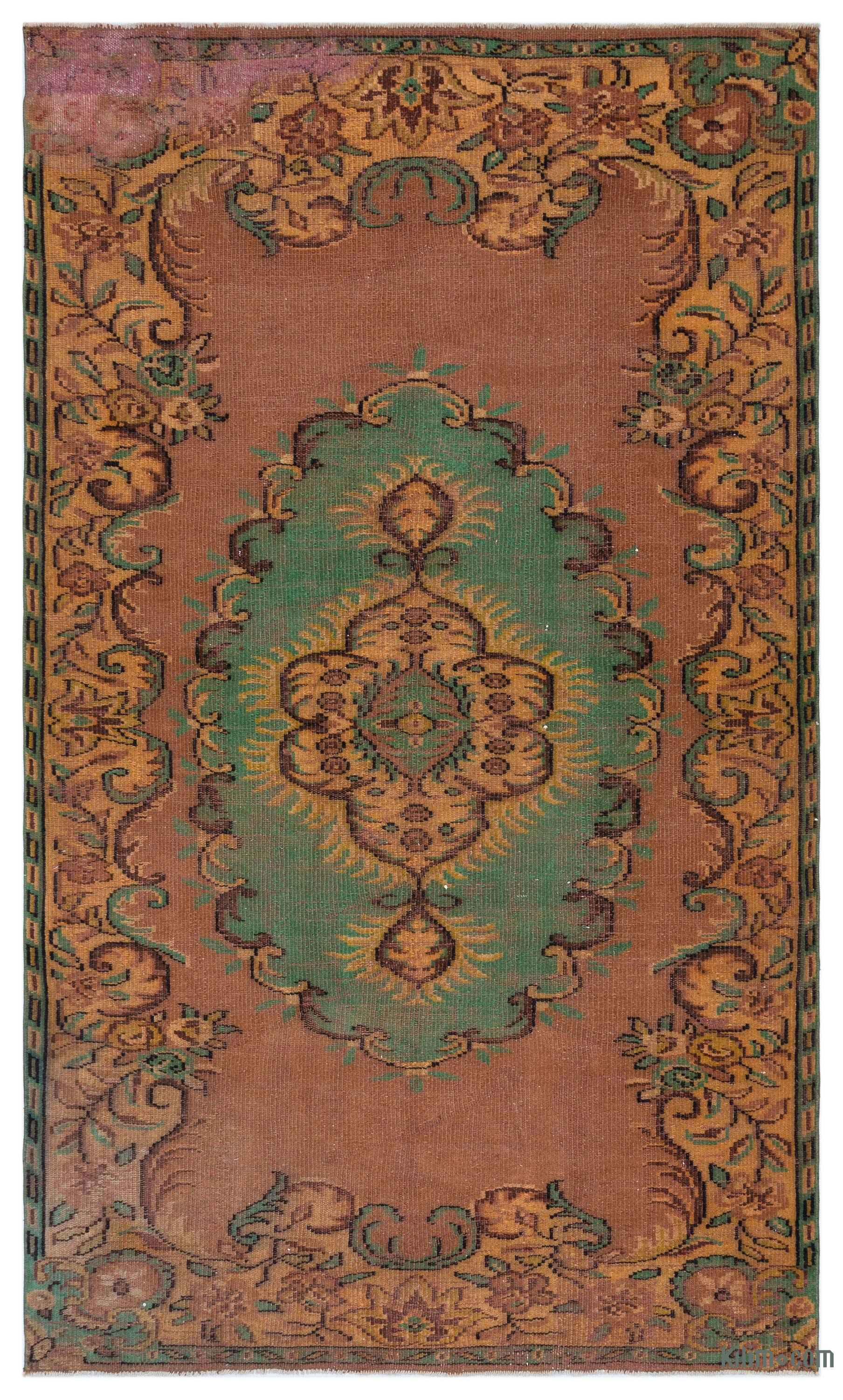 K0034699 Turkish Vintage Area Rug  64 In X 104 In Kilim Com The Source For Authentic Vintage Rugs Kilims Overdyed Oriental Rugs
