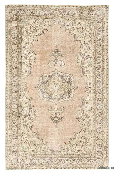 "Turkish Vintage Area Rug - 5'4"" x 8'5"" (64 in. x 101 in.)"