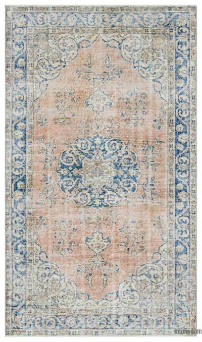 Turkish Vintage Rug - 3'10'' x 6'7'' (46 in. x 79 in.)
