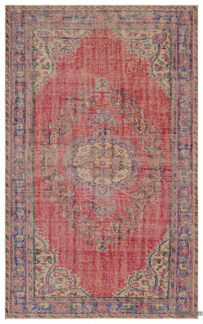 Turkish Vintage Rug - 5'9'' x 9'2'' (69 in. x 110 in.)