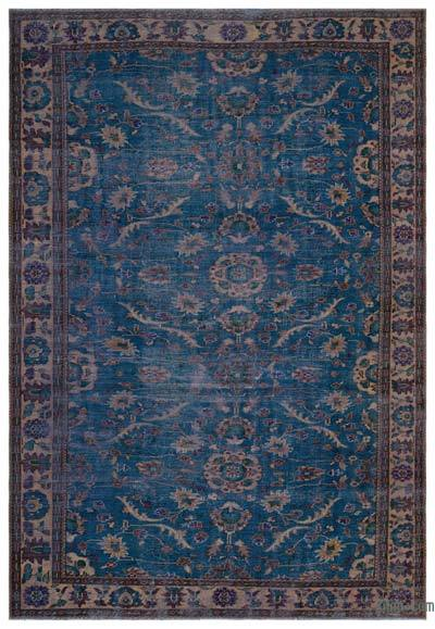 Turkish Vintage Rug - 7'3'' x 10'8'' (87 in. x 128 in.)