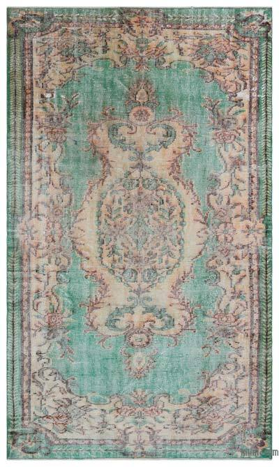 Turkish Vintage Rug - 5'2'' x 8'10'' (62 in. x 106 in.)