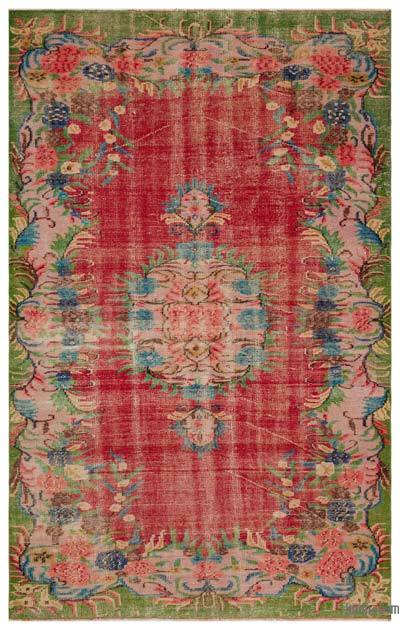 Turkish Vintage Rug - 6' x 9'1'' (72 in. x 109 in.)