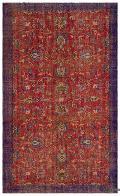 Turkish Vintage Rug - 6'2'' x 10'1'' (74 in. x 121 in.)