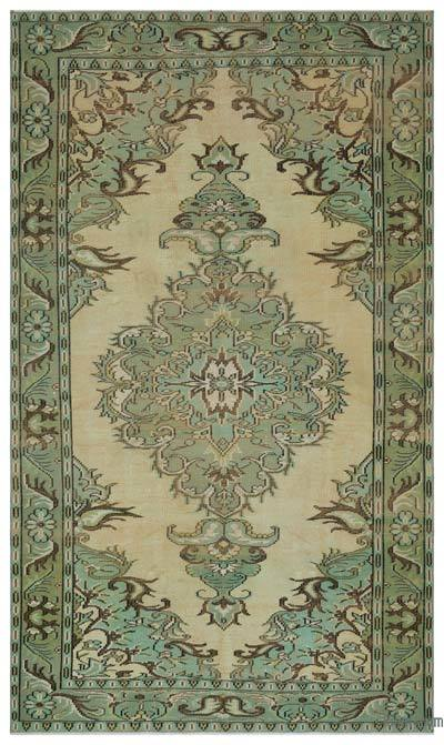 Turkish Vintage Rug - 5'9'' x 9'6'' (69 in. x 114 in.)