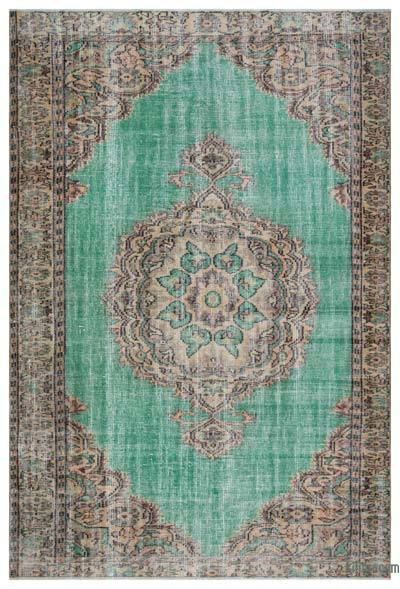 "Turkish Vintage Area Rug - 6' x 9'1"" (72 in. x 109 in.)"