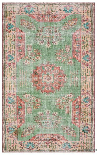 "Turkish Vintage Area Rug - 5'8"" x 9'3"" (68 in. x 111 in.)"
