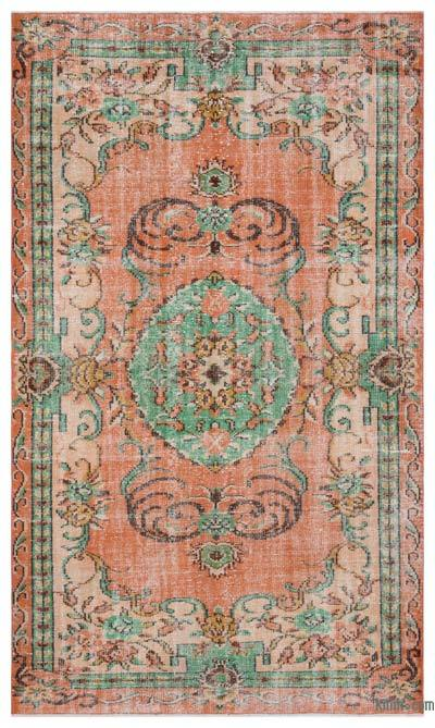 "Turkish Vintage Area Rug - 5'6"" x 9'4"" (66 in. x 112 in.)"