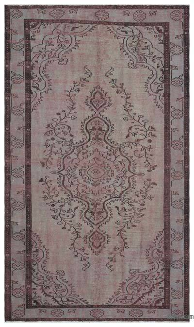 Turkish Vintage Rug - 5'5'' x 9'3'' (65 in. x 111 in.)