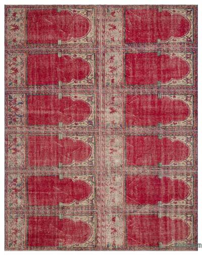 Turkish Vintage Rug - 7'11'' x 9'11'' (95 in. x 119 in.)