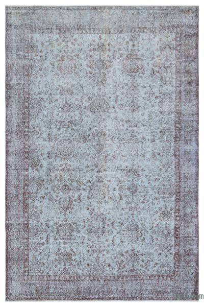 "Over-dyed Turkish Vintage Rug - 5'5"" x 8'4"" (65 in. x 100 in.)"