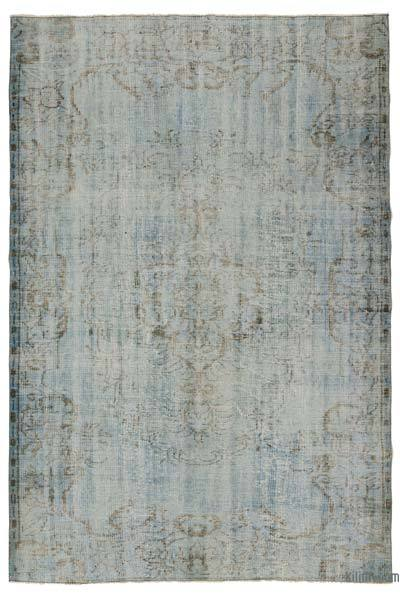"Over-dyed Turkish Vintage Rug - 5'5"" x 8'2"" (65 in. x 98 in.)"