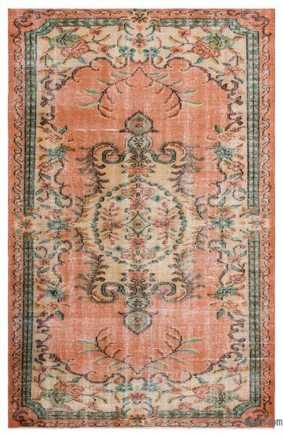 "Turkish Vintage Area Rug - 4'11"" x 7'8"" (59 in. x 92 in.)"