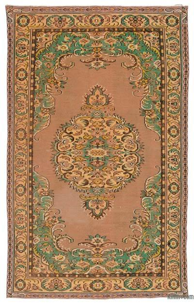 Turkish Vintage Area Rug - 6'2'' x 9'10'' (74 in. x 118 in.)