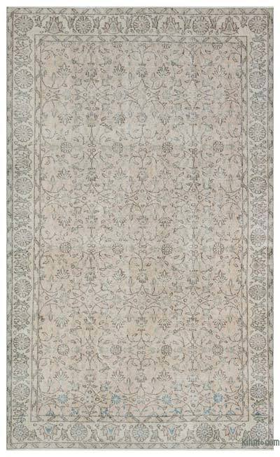 "Over-dyed Turkish Vintage Rug - 5'5"" x 9' (65 in. x 108 in.)"