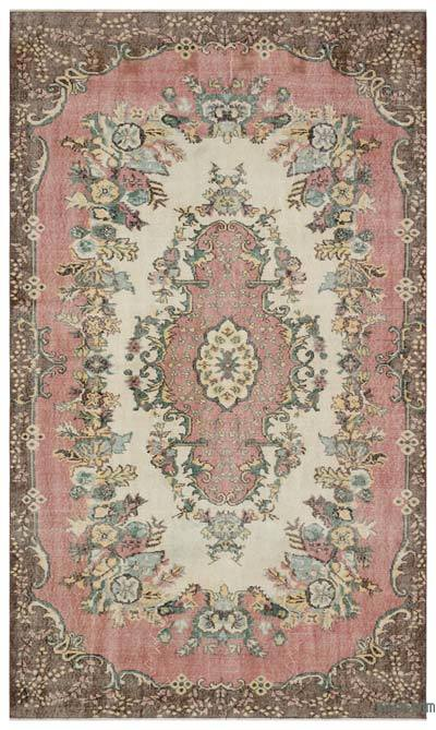 "Turkish Vintage Area Rug - 6'1"" x 10'1"" (73 in. x 121 in.)"